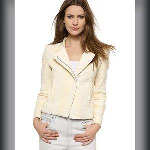 IRO Ozaka Ecru Cream Tweed Jacket 36 Small